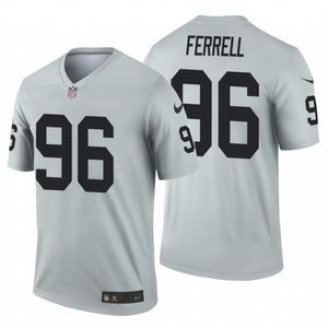 Men's Clelin Ferrell #96 Oakland Raiders Jersey